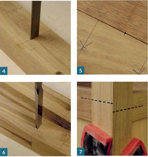 Photo: How to make garden planter - step 4,5,6,7