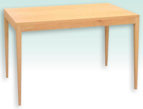 Beech Dining Table - Tapered elegance