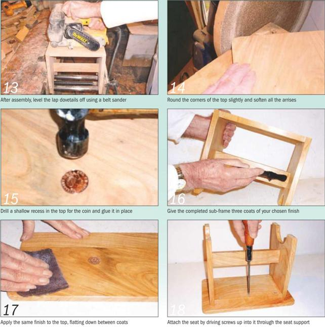 Child's Stool Instruction Guide 13-18