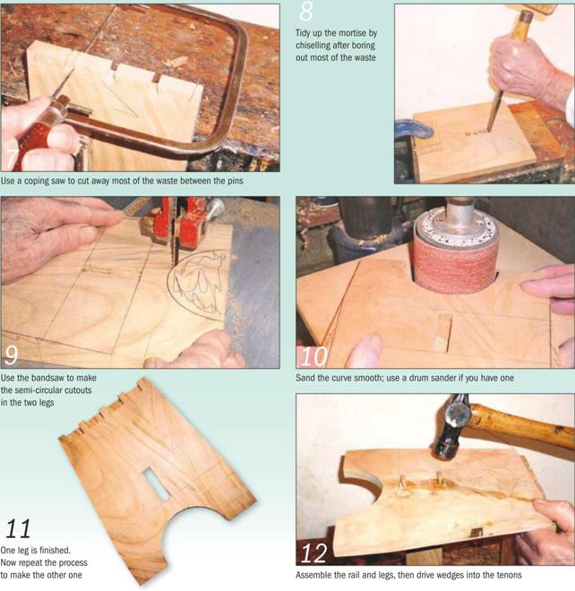 Child's Stool Instruction Guide 7-12
