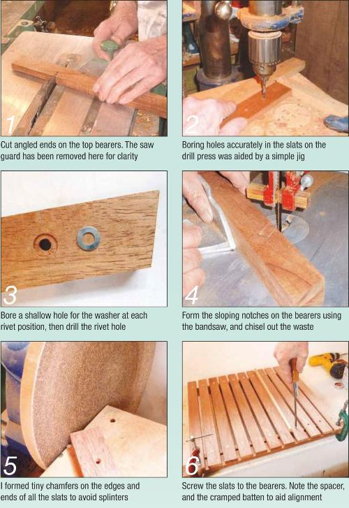Folding Picnic Table Photo Instruction 1-6