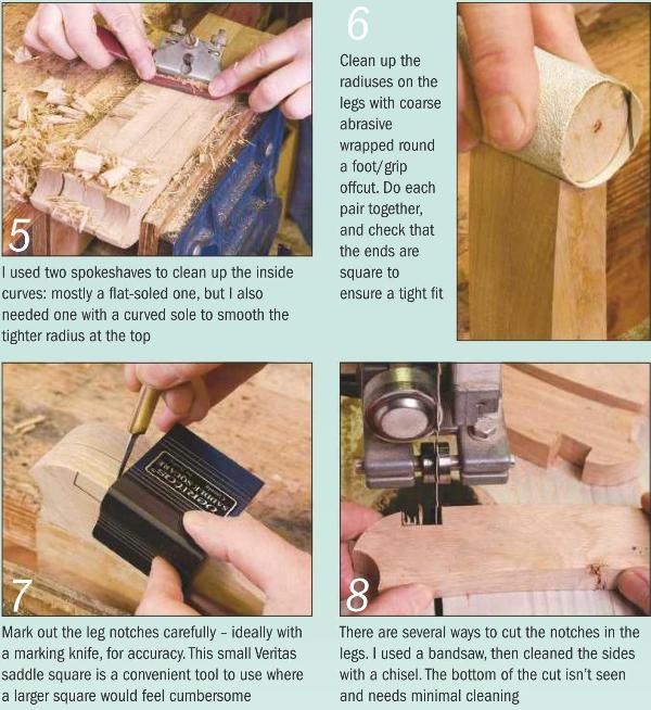 Garden Kneeler Instruction Photo 5-8