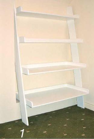 Ladder Shelving Unit Photo 01