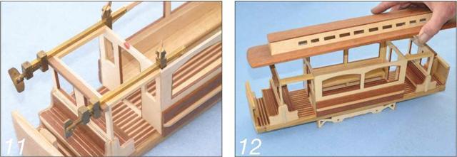 Wooden Tram Replica Photo 11-12