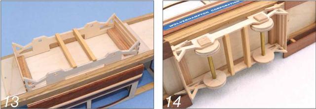 Wooden Tram Replica Photo 13-14