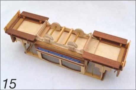Wooden Tram Replica Photo 16
