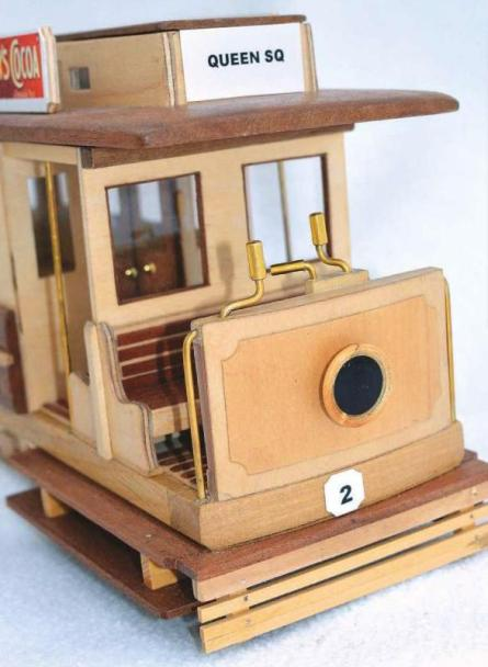 Wooden Tram Replica Photo 17