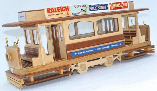 Wooden Tram Replica Photo_1