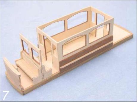 Wooden Tram Replica Photo_7