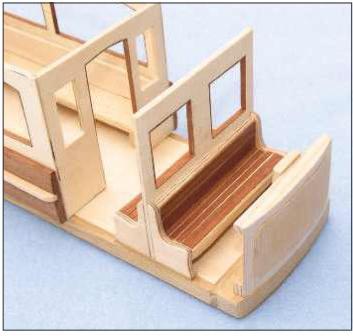 Wooden Tram Replica Photo_8