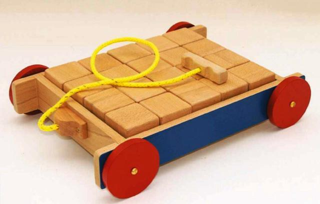 Toy Brick Truck Photo