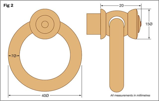 Furniture Fittings - Knobs and Knockers Figure 1