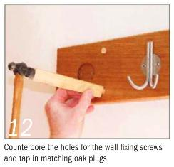 Instructions for making a Coat rack 12 photo