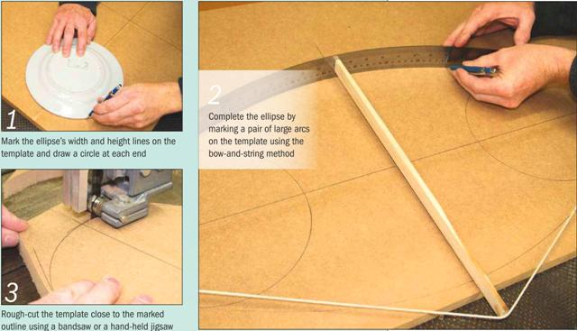Instructions for making a Media Stand Photo 1-3