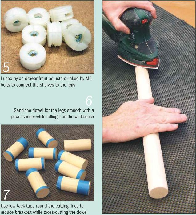 Instructions for making a Media Stand Photo 5-7