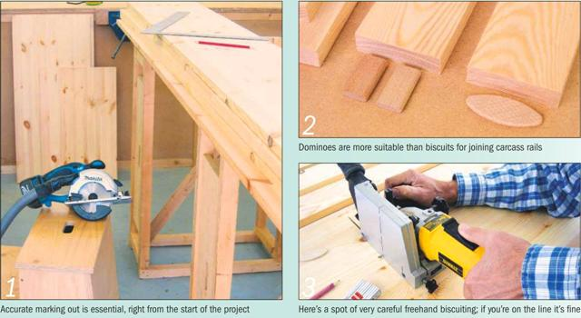 Instructions for making a Painted Dresser - Photo 1-3