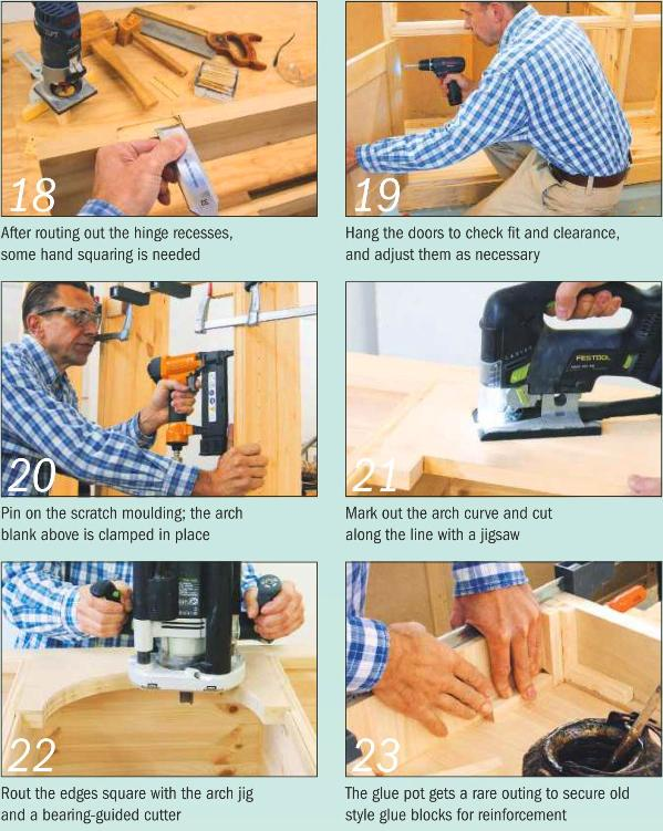 Instructions for making a Painted Dresser - Photo 18-23