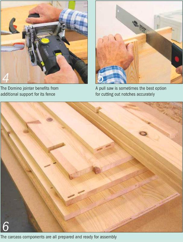 Instructions for making a Painted Dresser - Photo 4-6