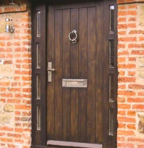 Insulated oak door - Barn Door Photo